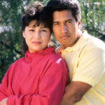 Latin Mexican Hispanic American Couple Hug Love Touch Serious BC10YC