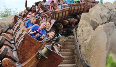 Happy Kids Seven Dwarfs Mine Train New Fantasyland Magic Kingdom Walt Disney World