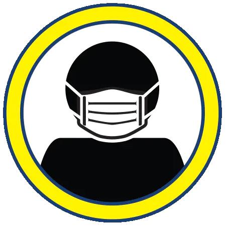 wearing mask icon